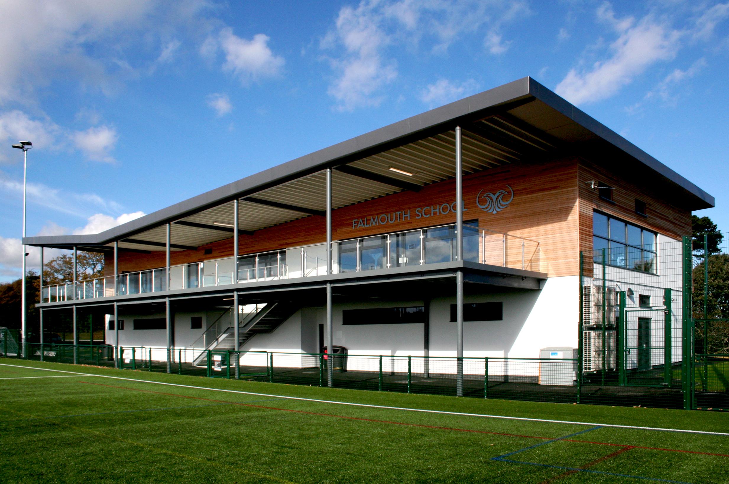 Kier | Falmouth School Sports Pavilion